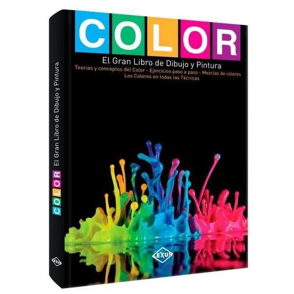 color gran libro dibujo pintura LXCOL3