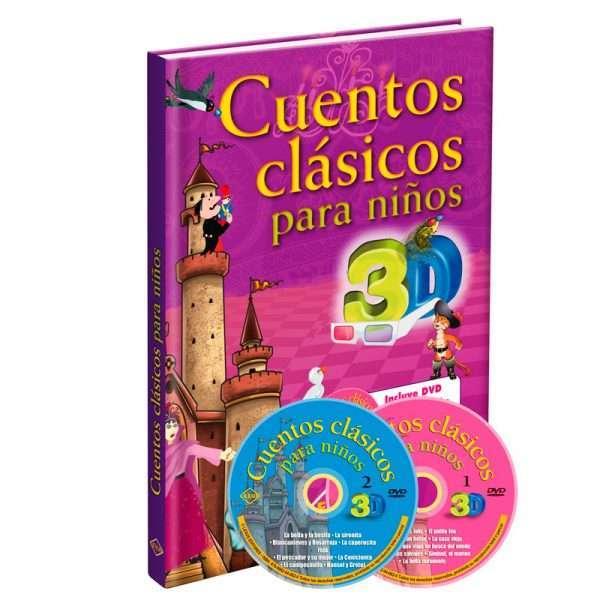 cuentos clasicos ninos 3d LXC3D1