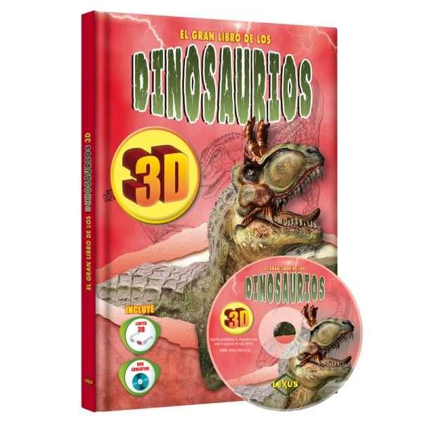 gran libro dinosaurios LXD3D1