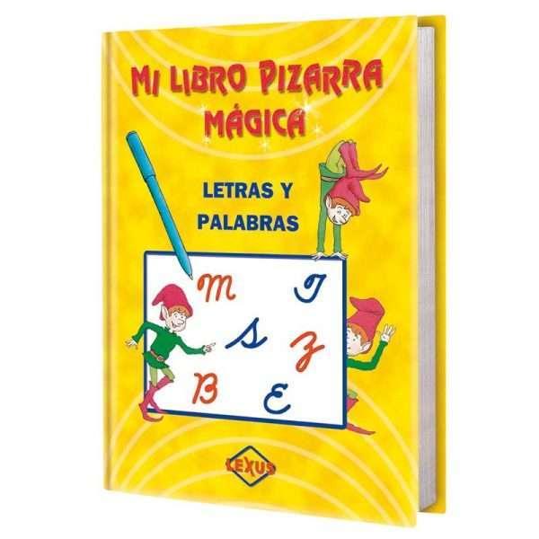 mi libro pizarra magica letras palabras LXPML1